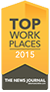 Top Workplaces 2015 - The News Journal