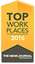 Top Workplaces 2016 - The News Journal