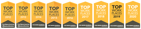 Top Workplaces from 2012 to 2020 - The News Journal